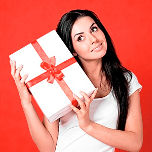 Идеи подарка девушке на день святого Валентина