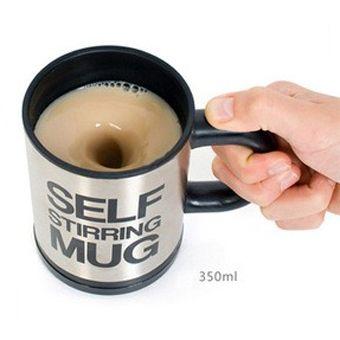 Кружка - Самомешалка Self Stirring Mug черная