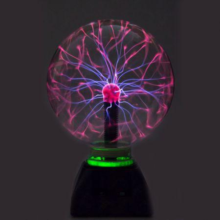 Плазма Лампа 15 см. Звукочувствительная