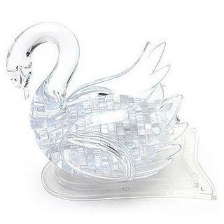 """3D-Пазл """"Лебедь"""" серый"""