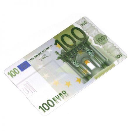 Флешка Кредитка 8 Гб 100 Евро