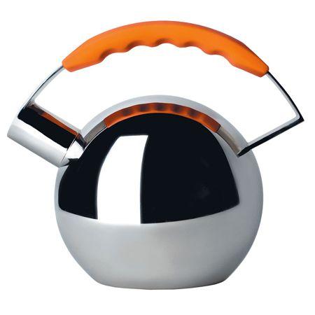 """Чайник """"Globus"""" с оранжевой ручкой"""