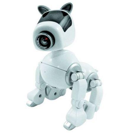 Web-камера игрушка Doggy-робот белая с микрофоном