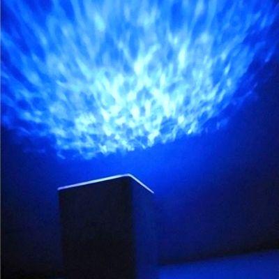 Проектор Океана многоцветный музыкальный ночник с таймером квадратный