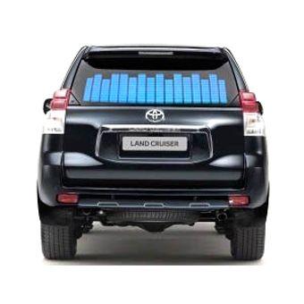 Эквалайзер для автомобиля на заднее стекло 70х16 см
