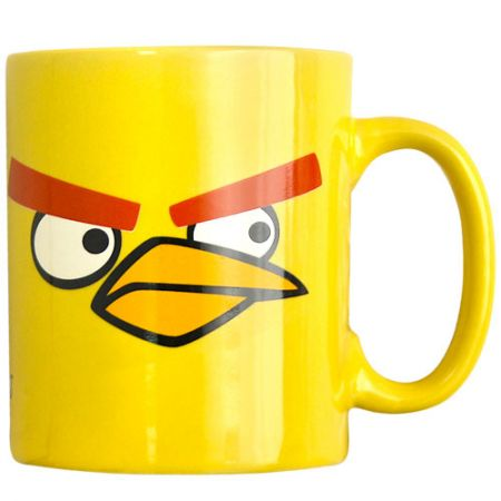 "Кружка ""Angry Birds"" желтая птичка"