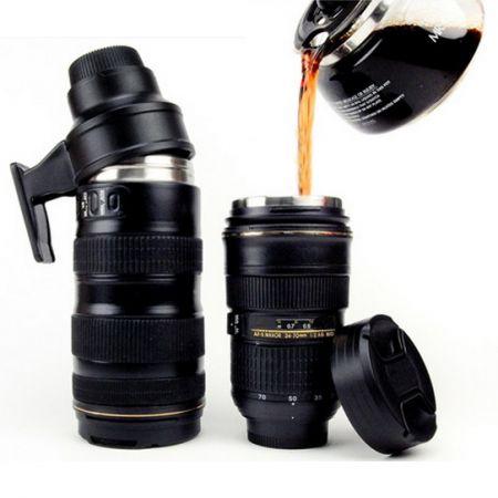 Кружка в виде объектива фотокамеры