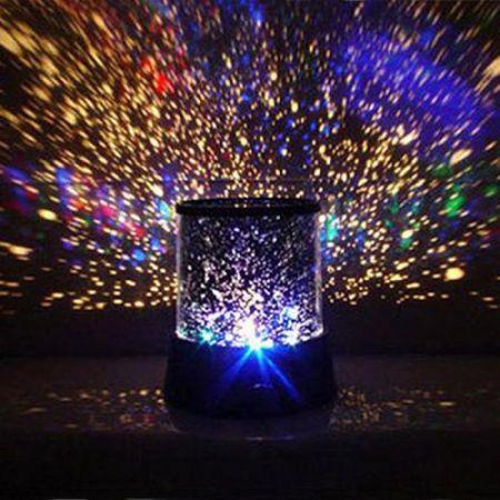 """Ночник - проектор звездного неба """"Стар Мастер"""" с вращением и музыкой"""