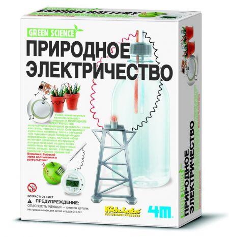 """Разаивающая игра-конструктор """"Природное электричество"""" 4M"""