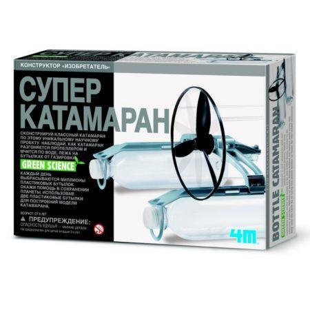 "Разаивающая игра-конструктор ""Супер катамаран"" 4M"