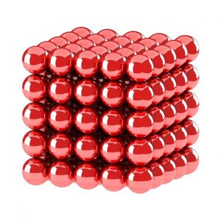 Головоломка NeoCube 5мм 125 сфер красный