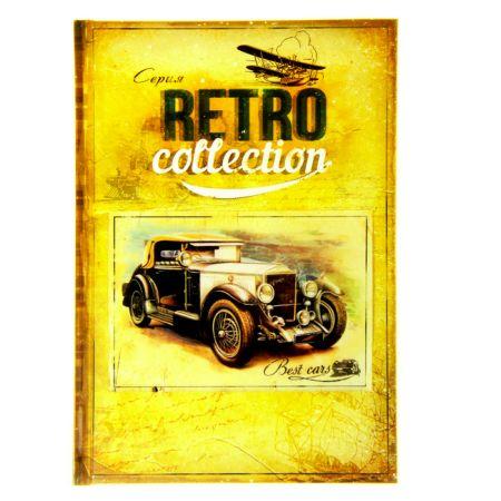 """Ретро-ежедневник """"Best cars""""  96 листов"""
