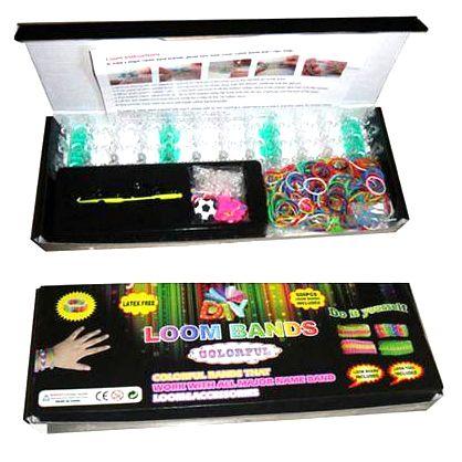 Набор резинок для плетения браслетов Loom Bands 600
