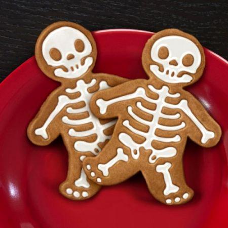 """Формочка для печенья """"Человечек - Скелет"""""""