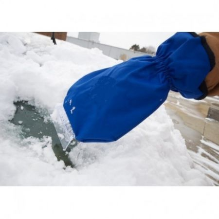 Варежка-скребок для удаления льда и снега с автомобиля