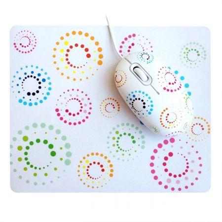 """Подарочный набор """"Rainbow"""" мышка и коврик USB"""