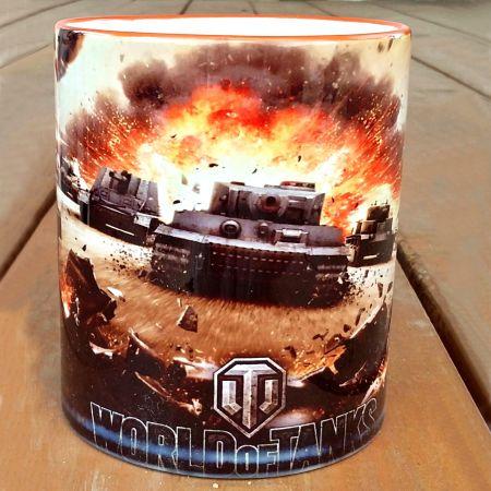 "Кружка ""World of tanks №2"" в подарок"