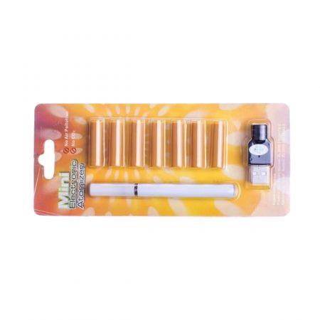 Электронная сигарета с 7 сменными картриджами белая