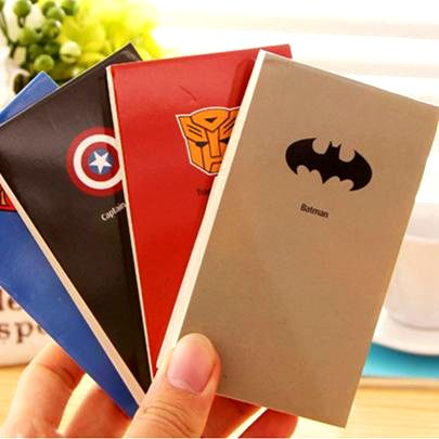 "Блокнот для записей супергерои ""Бэтмен"""