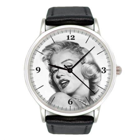 Часы наручные хромированные Merilyn Monroe 33 мм
