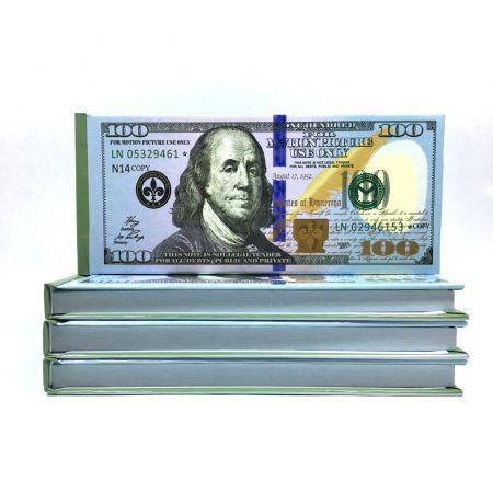 Отрывной блокнот 100$ в жесткой обложке