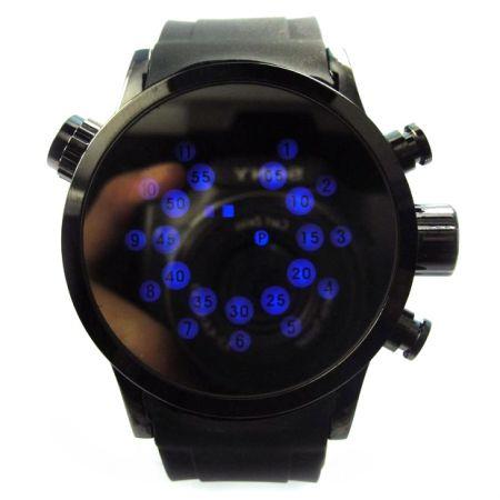 """Часы """"Радар"""" 4 кнопки черные"""