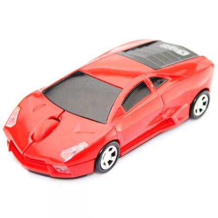 Мышь машинка «Lamborghini» беспроводная сувенирная красная