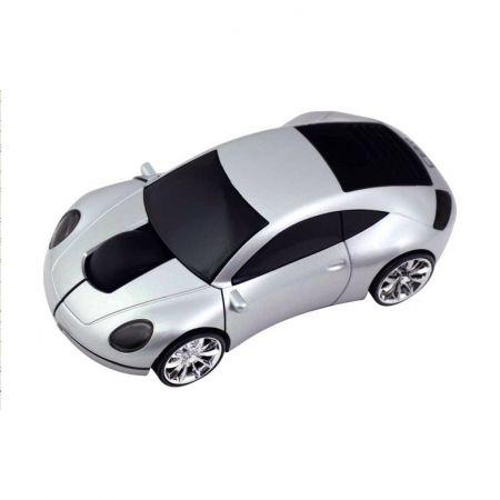 Мышь беспроводная «Porshe 911» оптическая серебристая машинка