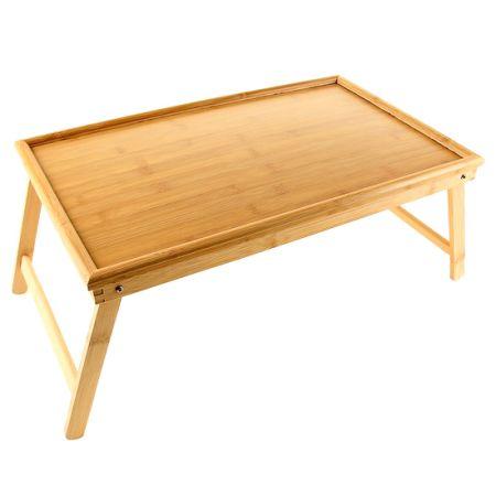 Столик бамбуковый для еды или ноутбука в кровать