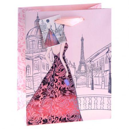 """Пакет L """"Вечер в Париже"""" 26х32х10 см"""