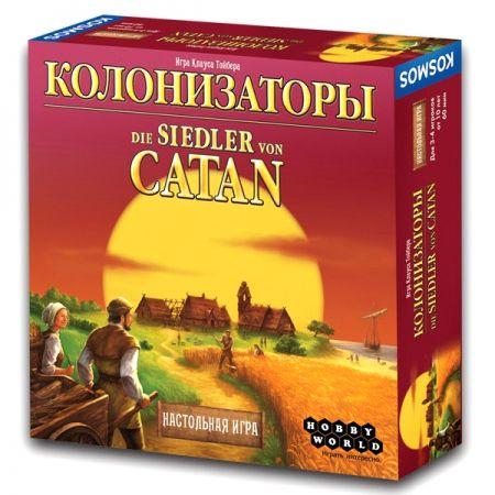 Настольная игра Колонизаторы (новая редакция)
