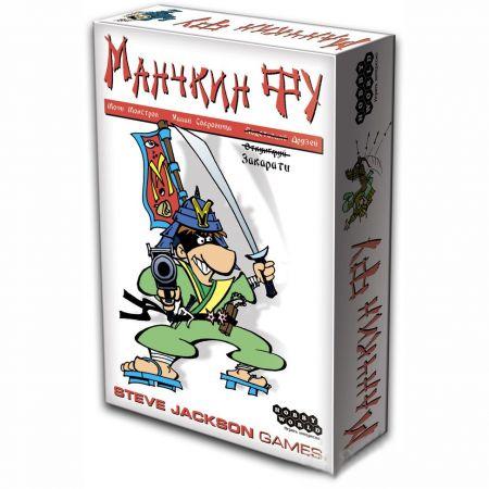 """Настольная игра """"Манчкин-Фу"""""""