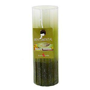 Свеча Sentimental, запах-дыня, 220 гр, 15 см