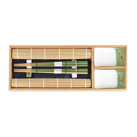 Набор для суши на 2 персоны светло-зеленый