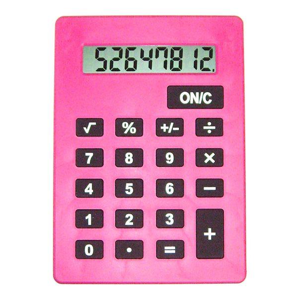 Калькулятор большой А4 розовый