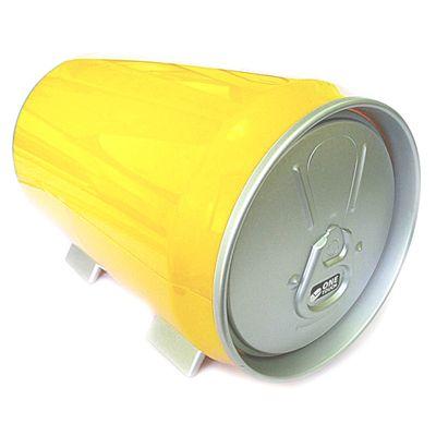 """Футляр для дисков """"Пивная банка"""" желтый"""