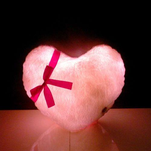 """Подушка """"Пылающее сердце"""""""