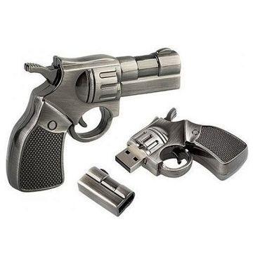 """Флешка """"Пистолет"""" 16 Гб подарочная"""