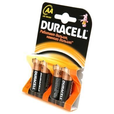 Батарейка Duracell 1.5V AA (Пальчиковая большая)