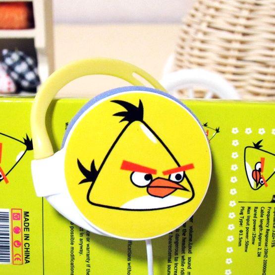 "Наушники ""Angry Birds"" круглые"