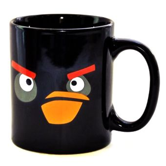 "Кружка ""Angry Birds"" черная птичка"