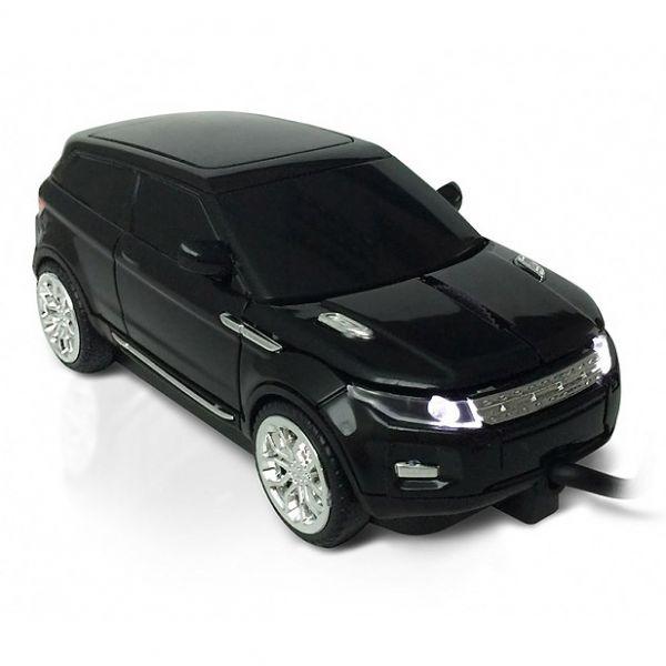 "Мышка - машинка ""Range Rover"" USB черная"