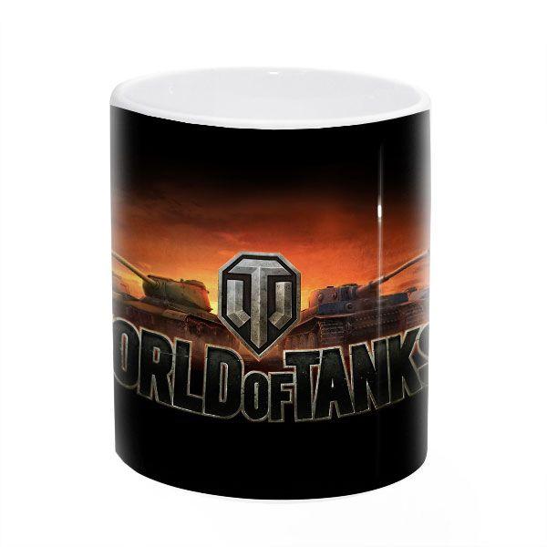"Кружка ""World of tanks №1"" в подарок"