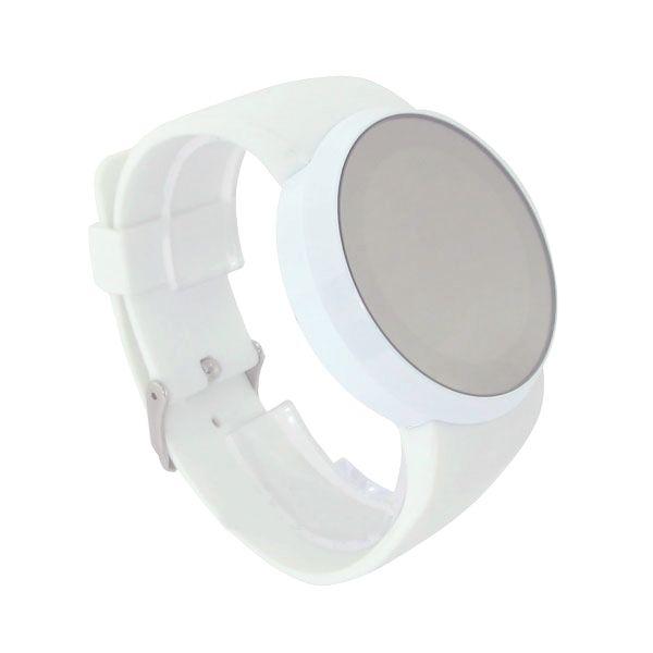 """LED часы Skmei """"Зеркальные"""" белые"""