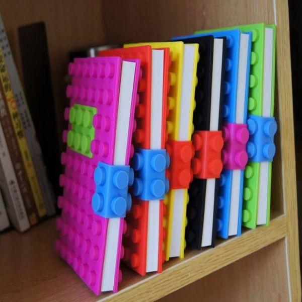 """Ежедневник """"Lego"""" 14х21 см разные цвета"""