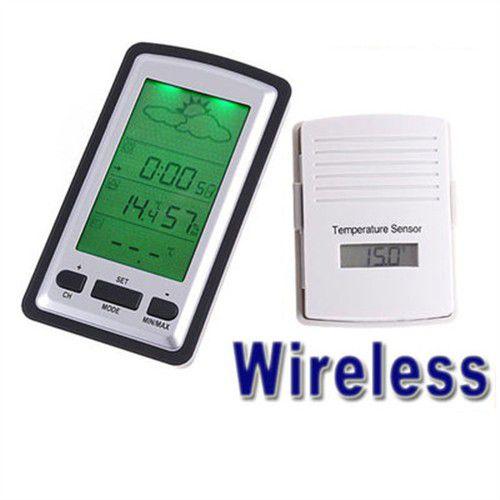 Домашняя метеостанция двухканальная с беспроводным термометром