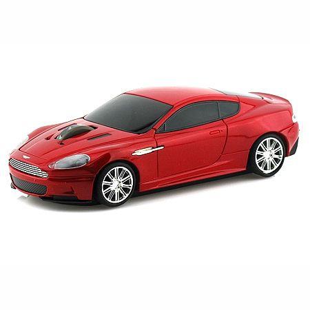"Мышка ""Aston Martin"" беспроводная 2,4GHz красная"