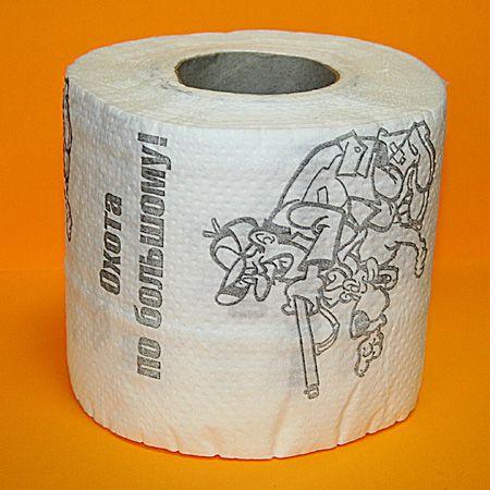 """Туалетная бумага """"Охота по большому"""""""
