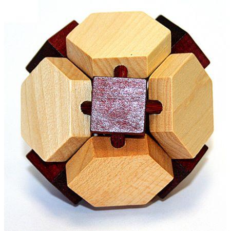 Головоломка деревянная в картонной коробке К7