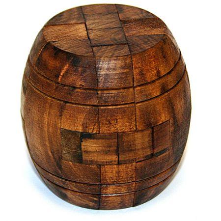 Головоломка деревянная в картонной коробке К8